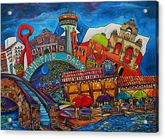 Downtown Montage San Antonio Acrylic Print