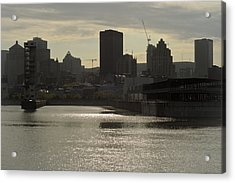 Downtown Montreal Acrylic Print by Eric Soucy