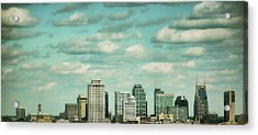 Downtown Nashville After Sunrise Acrylic Print by Jai Johnson