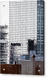 Downtown Newark Nj Acrylic Print by Kellice Swaggerty