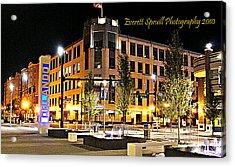 Downtown Orlando At Amway Center Acrylic Print