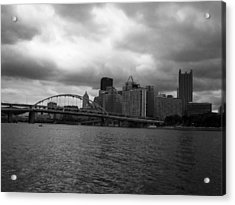 Downtown Pittsburgh Acrylic Print