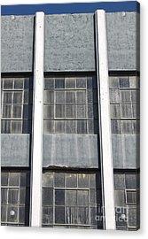 Downtown Pomona Windows Acrylic Print by Gregory Dyer