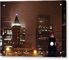 Downtown Seattle Acrylic Print