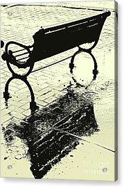 Downtown Shower Acrylic Print