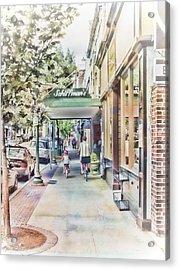 Downtown Sunday Acrylic Print