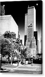 Downtown Views 1990s Acrylic Print by John Rizzuto