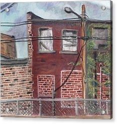 Downtown Warrensburg Acrylic Print by Billy Granneman