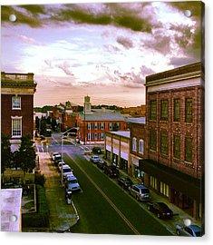 Downtown Washington Nc Acrylic Print
