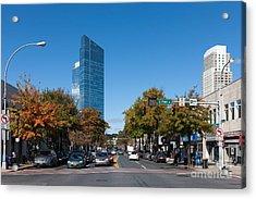 Downtown White Plains New York IIi Acrylic Print