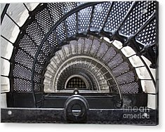 Downward Spiral Acrylic Print