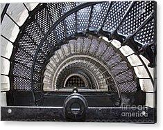 Downward Spiral Acrylic Print by Douglas Stucky