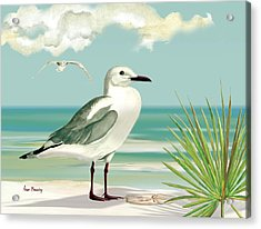 Downwind Acrylic Print by Anne Beverley-Stamps