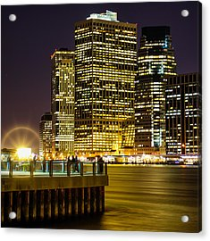 Downtown Lights Acrylic Print