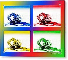 Dozer Mania IIi Acrylic Print by Kip DeVore