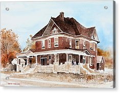 Dr. Hall Residence Acrylic Print by Monte Toon