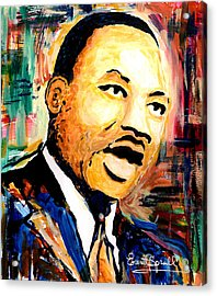 Dr. Martin Luther King Jr Acrylic Print