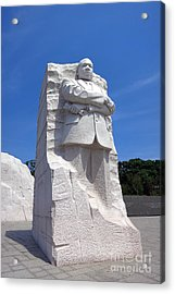 Dr Martin Luther King Memorial Acrylic Print by Olivier Le Queinec