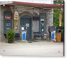 Acrylic Print featuring the photograph Dr Pepper Diesel  Musella  by Douglas Fromm