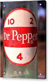 Dr. Pepper  Acrylic Print