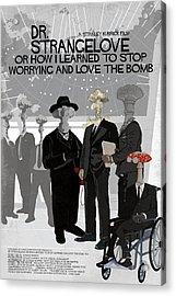 Dr Strangelove Alternative Poster Acrylic Print by Edgar Ascensao
