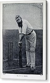 Dr. W.g. Grace Acrylic Print by British Library