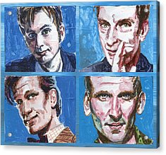 Dr. Who Acrylic Print by Ken Meyer