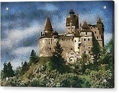 Dracula Castle Romania Acrylic Print by Georgi Dimitrov