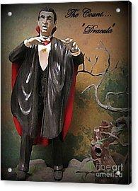 Dracula Model Kit Acrylic Print by John Malone