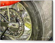 Drag Bike Acrylic Print by JRP Photography