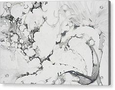 Dragon Dance Acrylic Print by Claudia Smaletz