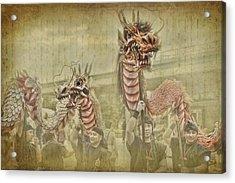 Dragon Festival Acrylic Print by Karen Walzer