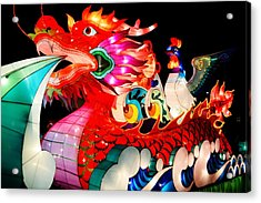 Dragon Float Acrylic Print
