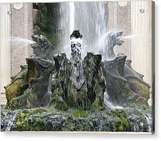 Dragon Fountain Acrylic Print