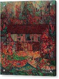 Dragon Hall Acrylic Print by Anna Yurasovsky