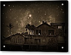 Dragon House Of Decay Acrylic Print by Jessica Grandall