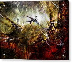Dragon Realms Acrylic Print