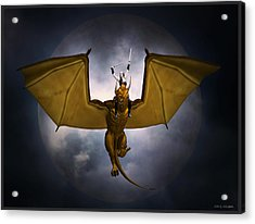 Dragon Rider Acrylic Print