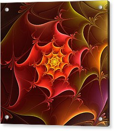 Dragon Scale Acrylic Print by Anastasiya Malakhova