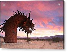 Dragon Scupture 2 Acrylic Print