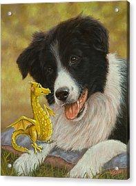 Dragon Tails Acrylic Print