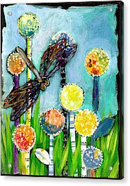 Dragonfly And The Dandies Acrylic Print