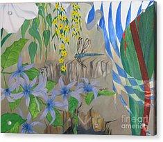 Dragonfly Dreams Acrylic Print by Richard Dotson