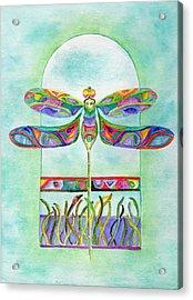 Dragonfly Flight Acrylic Print