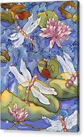 Dragonfly Medley Acrylic Print