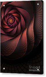 Dragonheart Acrylic Print by John Edwards