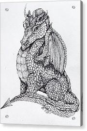 Dragon's Dream Acrylic Print