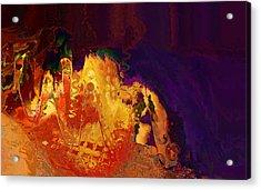 Dragon's Teeth Cave Acrylic Print