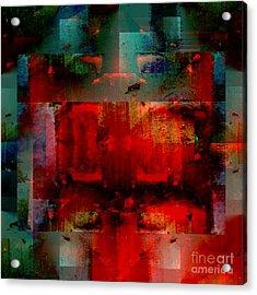 Drama Acrylic Print