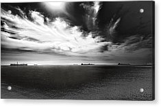 Acrylic Print featuring the photograph Drama Clouds by Joseph Hollingsworth